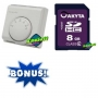 10 X Termostate ambient electromecanice + cadou card 8 GB