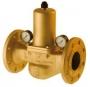 Reductor, regulator presiune din bronz, flansa 1 - 7 bar PN 25
