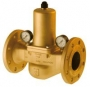 Reductor, regulator presiune din bronz, flansa 1 - 7 bar PN 25